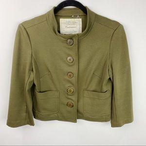 Anthropologie Cartonnier cropped blazer